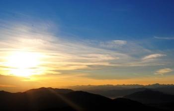 SUNSET AT SIGHIGNOLA